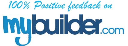 100% Positive Feedback on mybuilder.com